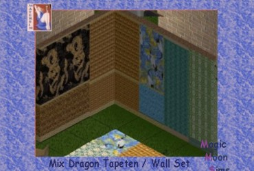 ws Dragon Wall Mix Set