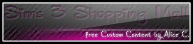 Sims3 Shopping Mall